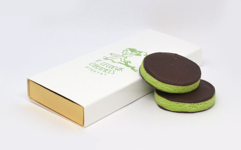V.Lecoeur Etretat Rayons Verts